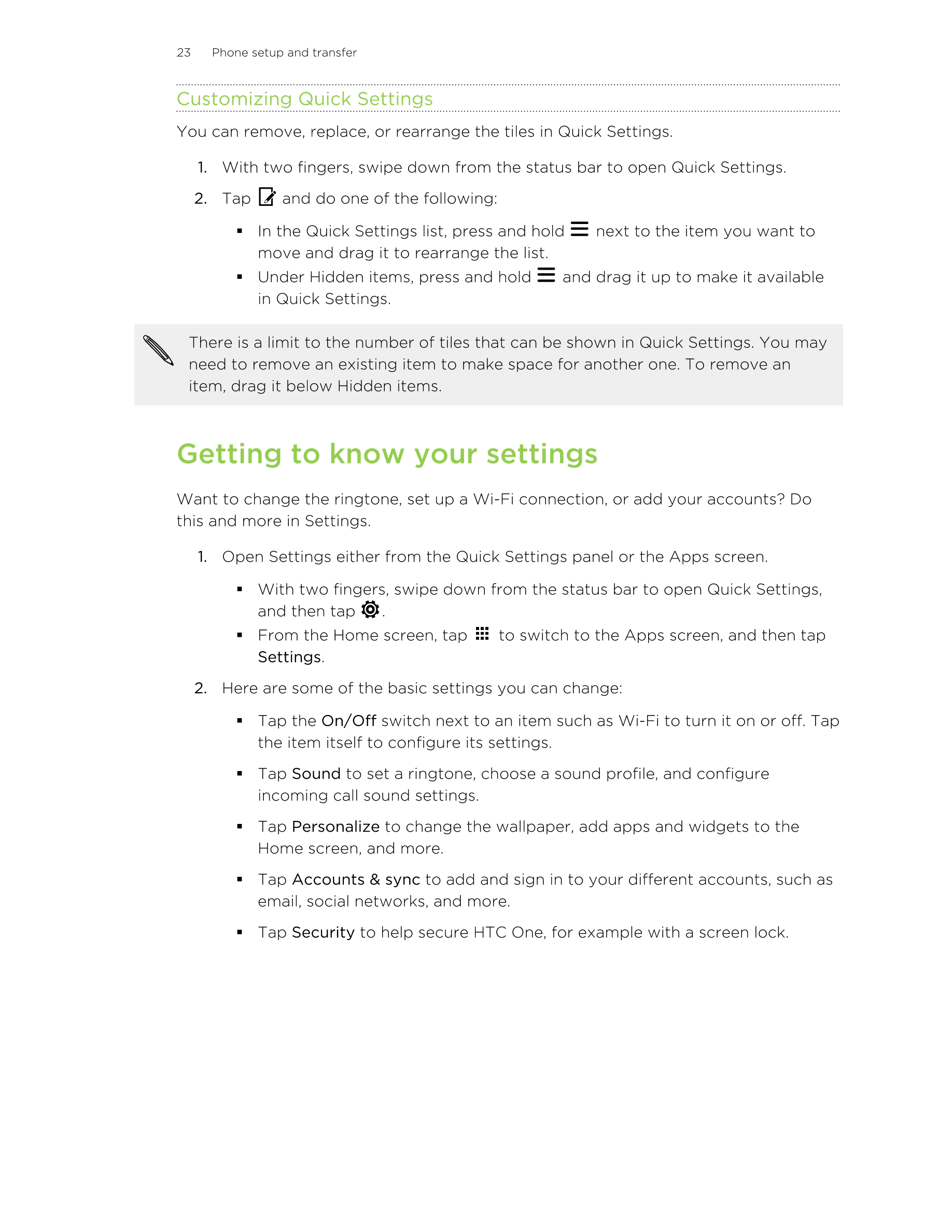Manual - HTC One (M8) - Android 5 0 - Smart Guides