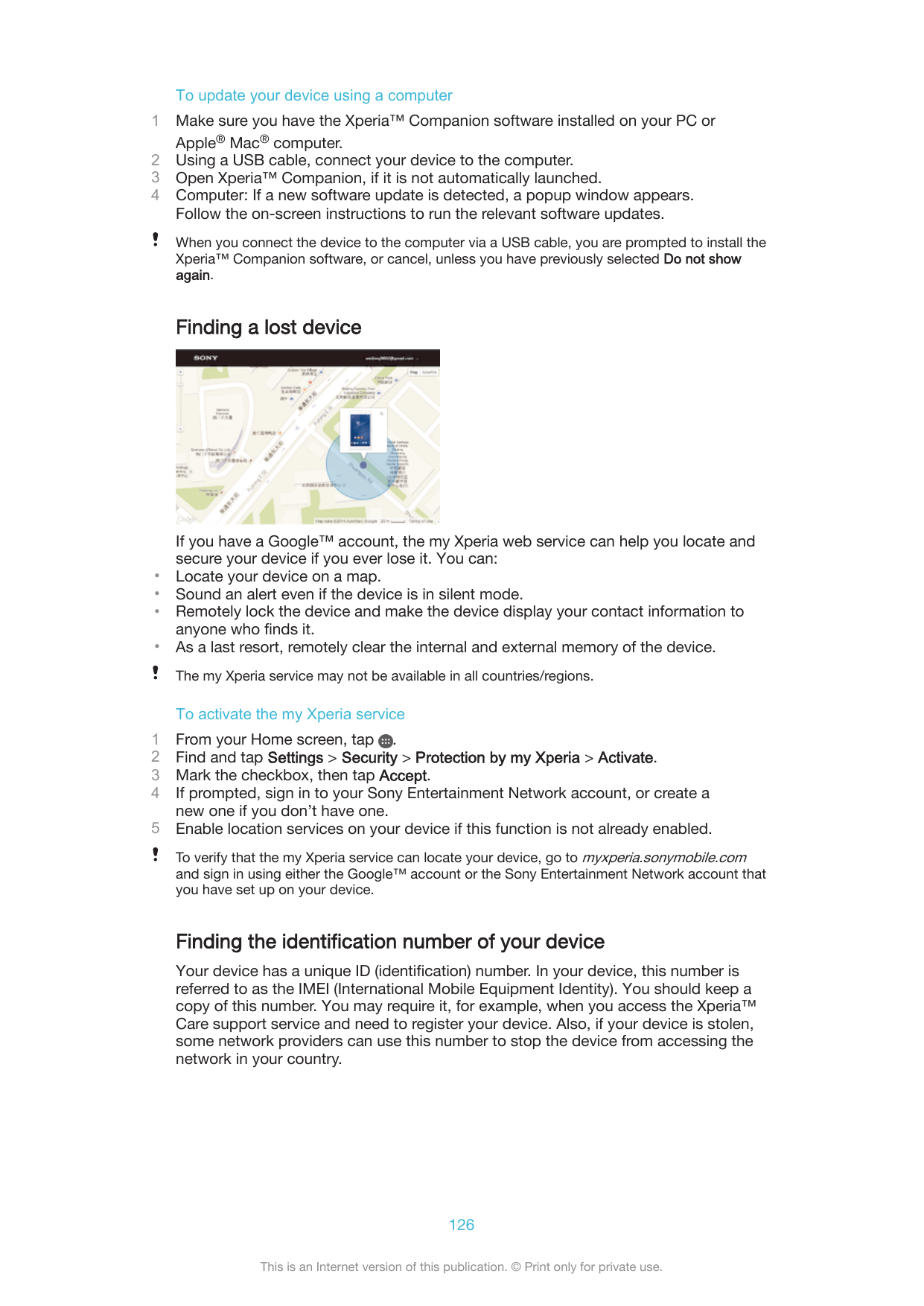 Manual - Sony Xperia M2 Aqua - Android 5 1 - Smart Guides