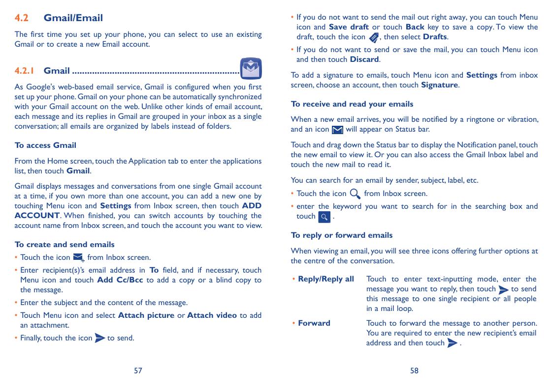 manual alcatel scribe