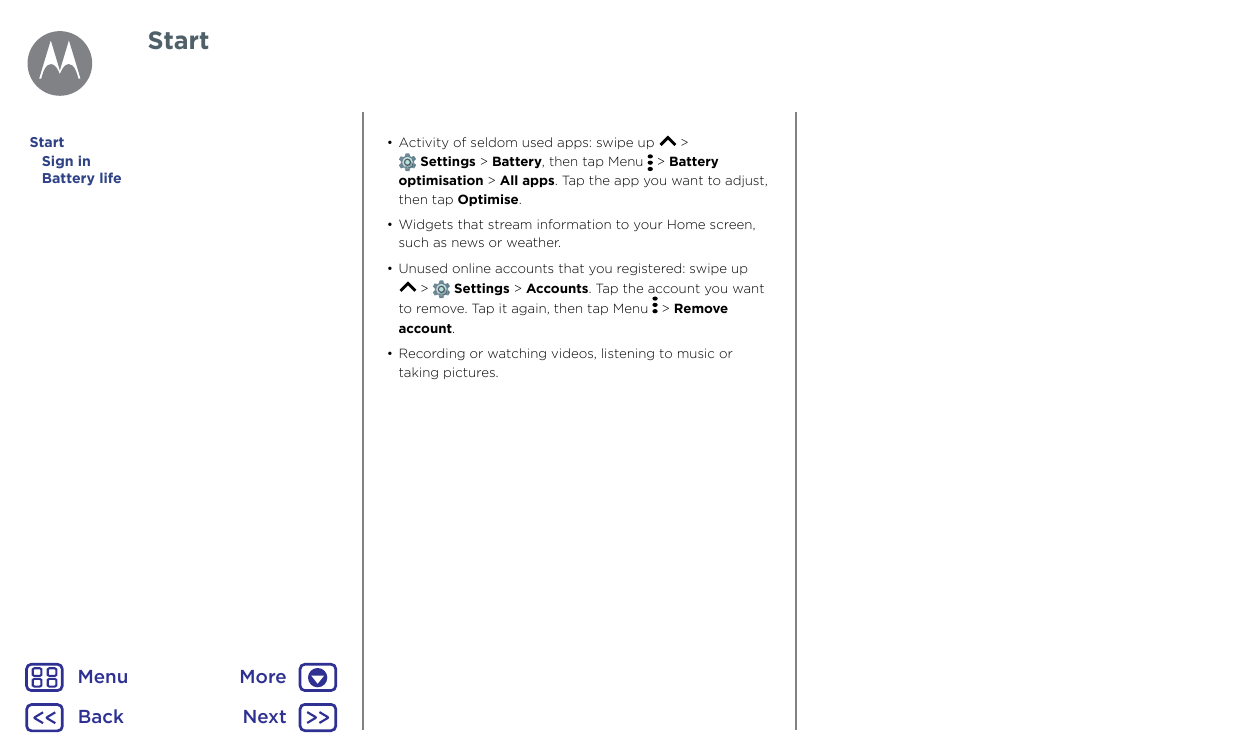 Manual - Motorola Moto G5 Plus - Android 7 0 - Smart Guides