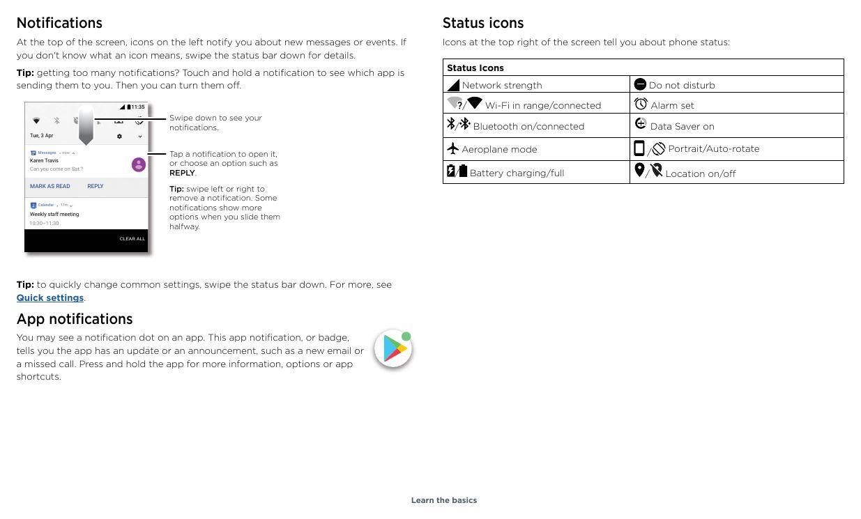 Manual - Motorola Moto E5 Plus - Android 8 0 - Smart Guides