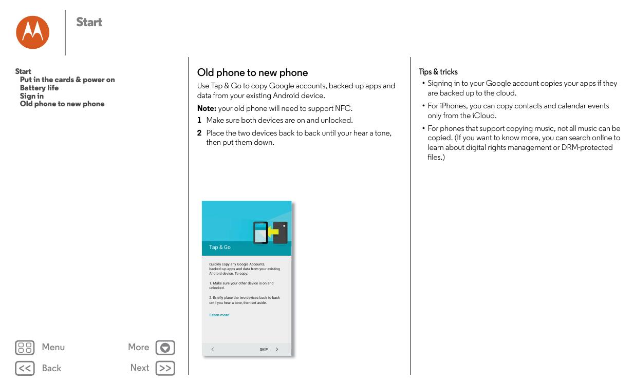 Manual - Motorola Moto X Force - Android 6 0 - Smart Guides
