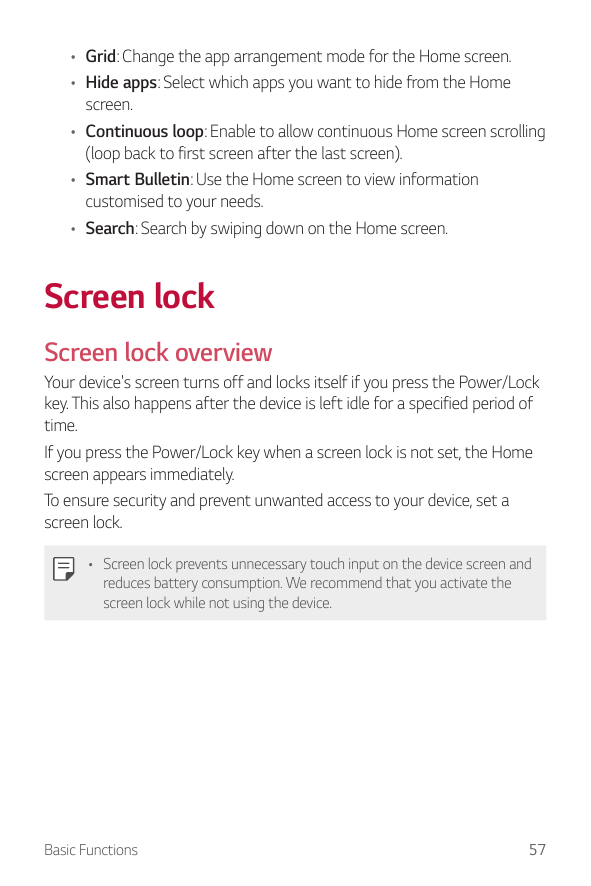 Manual - LG G6 - Android 7 0 - Smart Guides