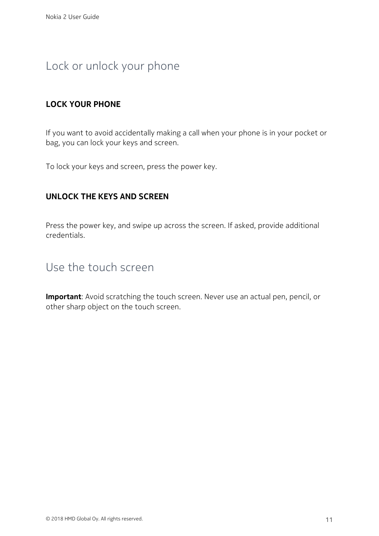 Manual - Nokia 2 - Android 7 1 - Smart Guides
