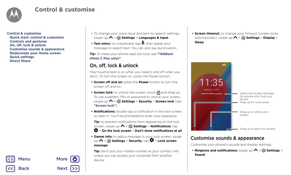 Manual - Motorola Moto C Plus - Android 7 0 - Smart Guides