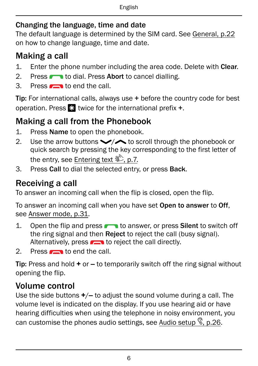 Manual - Doro PhoneEasy 612 - Mediatek - Smart Guides