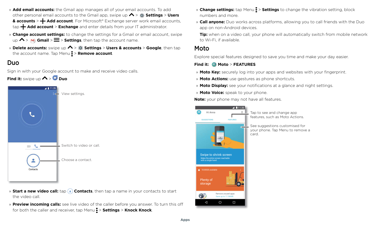 Manual - Motorola Moto G6 - Android 8 0 - Smart Guides