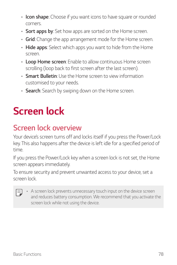 Manual - LG G7 ThinQ - Android 8 0 - Smart Guides