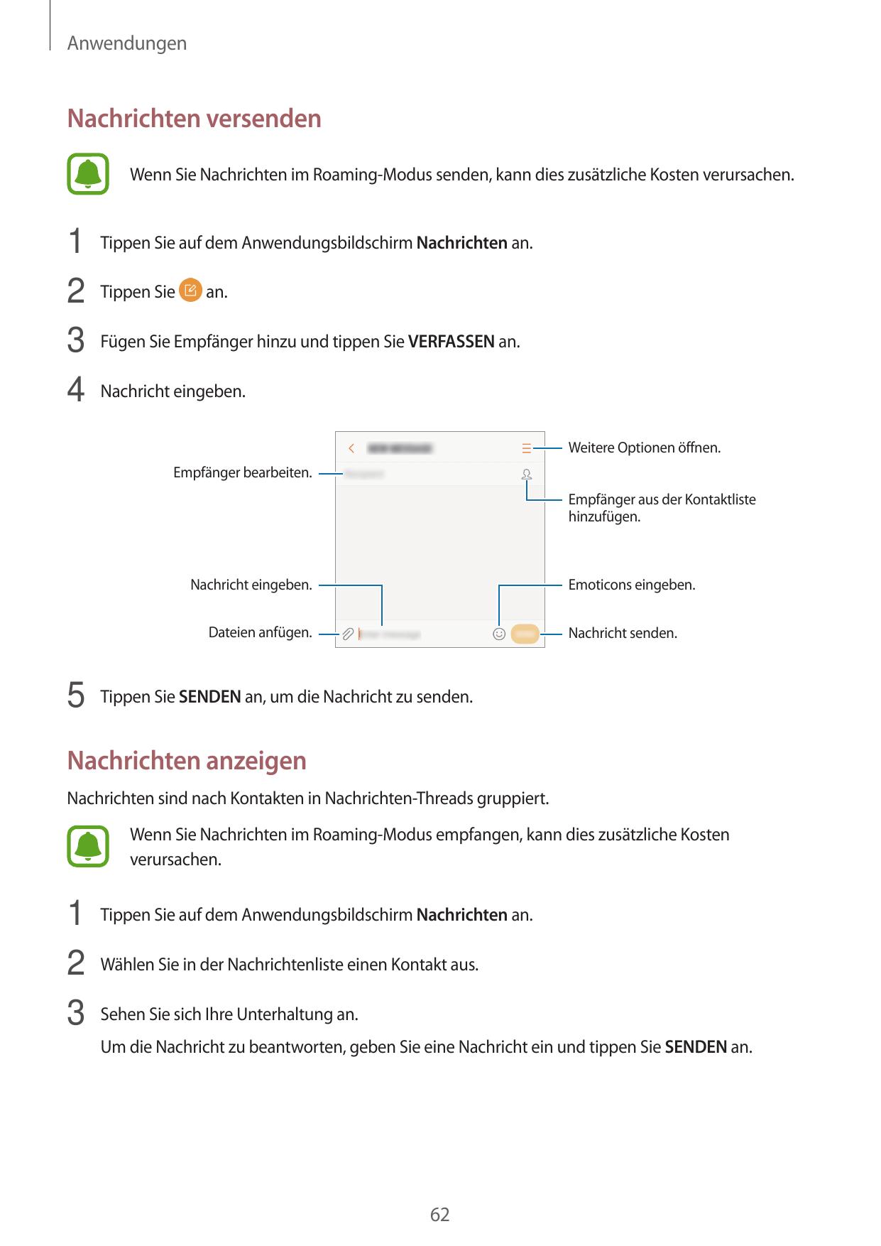 Bedienungsanleitung - Samsung Galaxy Xcover 4 - Android 7.0 ...