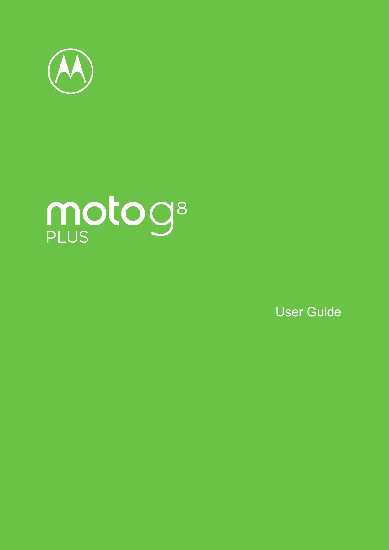 Motorola moto g manual user guide and instructions.