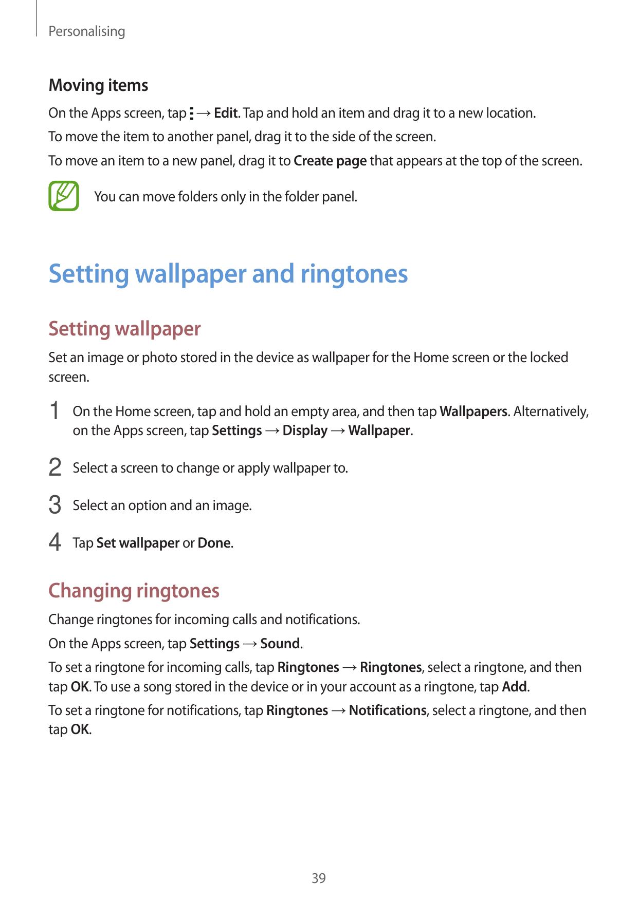 Manual - Samsung Galaxy Pocket 2 - Android 4 4 - Call me Guides