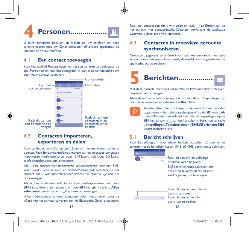 alcatel pixi 4 manual pdf