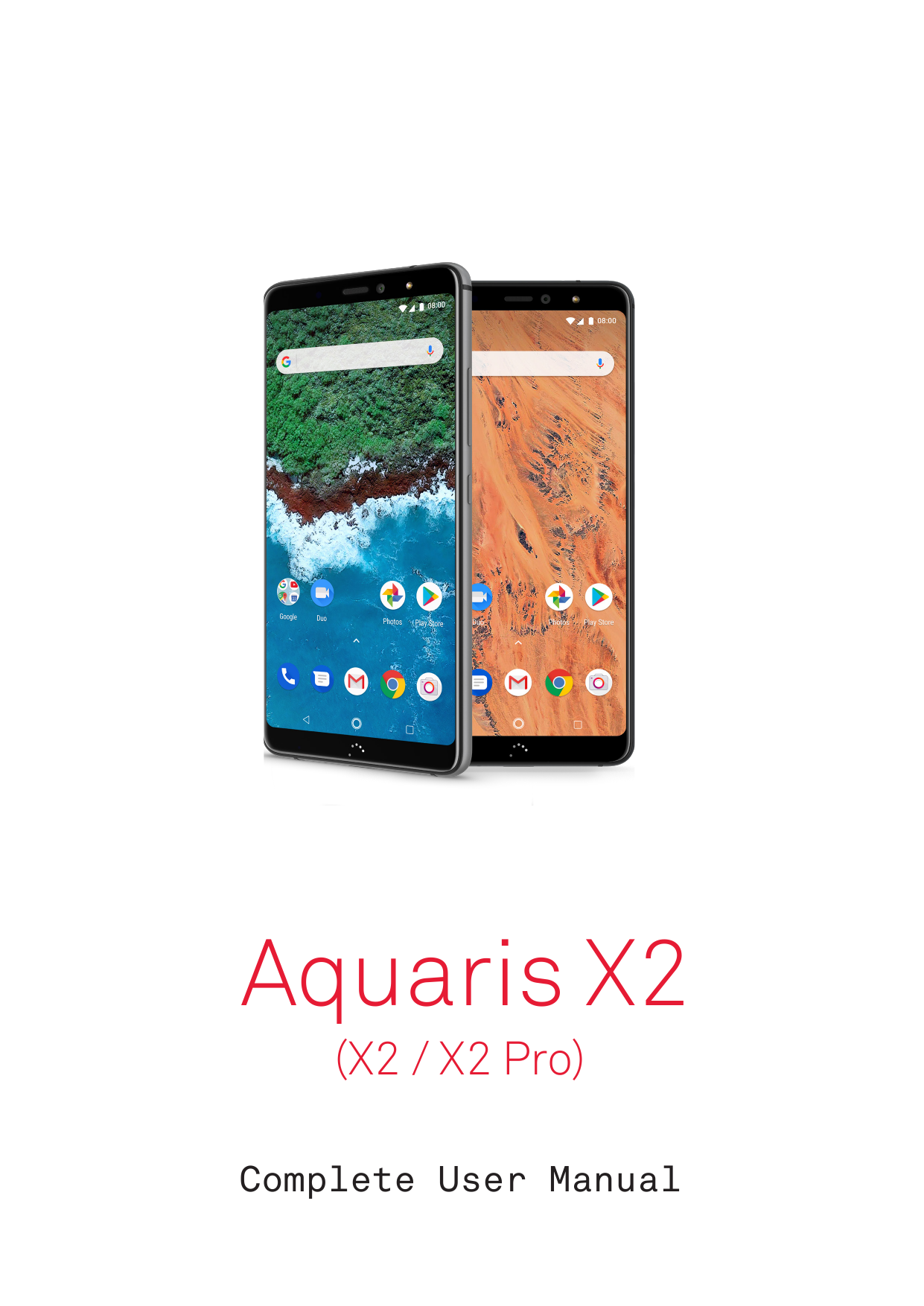 Manual - BQ Aquaris X2 Pro - Android 8 1 - Device Guides