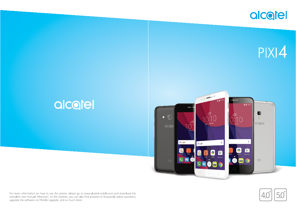User manual for Alcatel One Touch Pixi 4 (5)