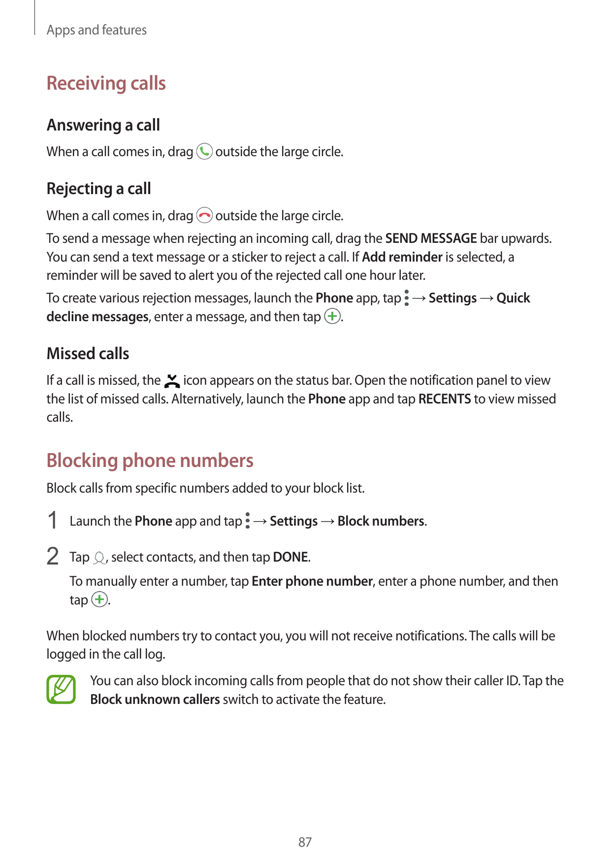 Manual - Samsung Galaxy S9 - Android 8 0 - Call me Guides
