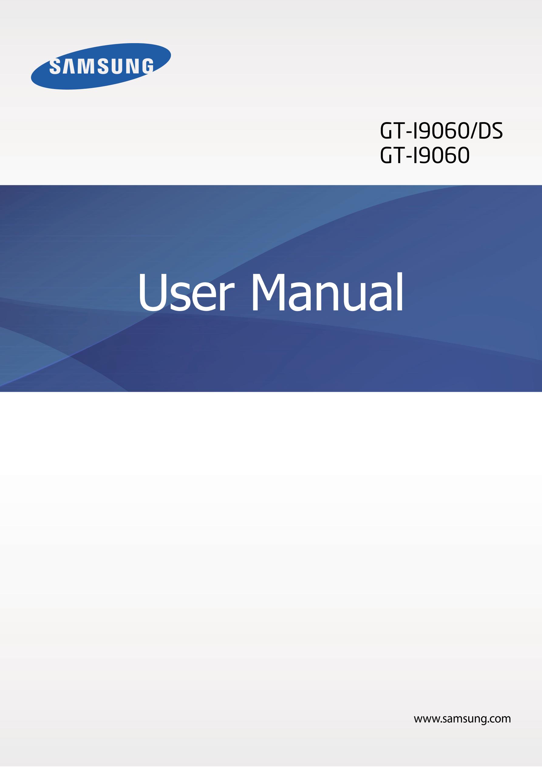GT-I9060/DS GT-I9060 User Manual www.samsung.com. Go. Samsung Galaxy Grand  Neo