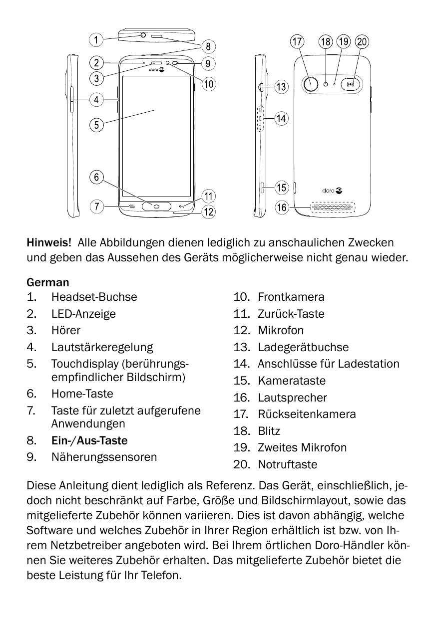 Handbuch doro 8040