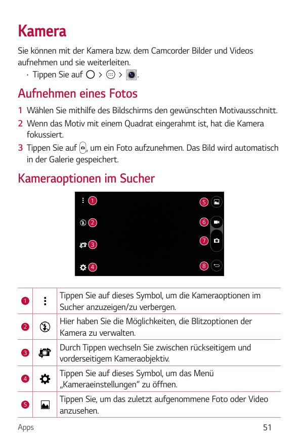 Bedienungsanleitung - LG K8 - Android 6.0 - mobilcom-debitel Guides