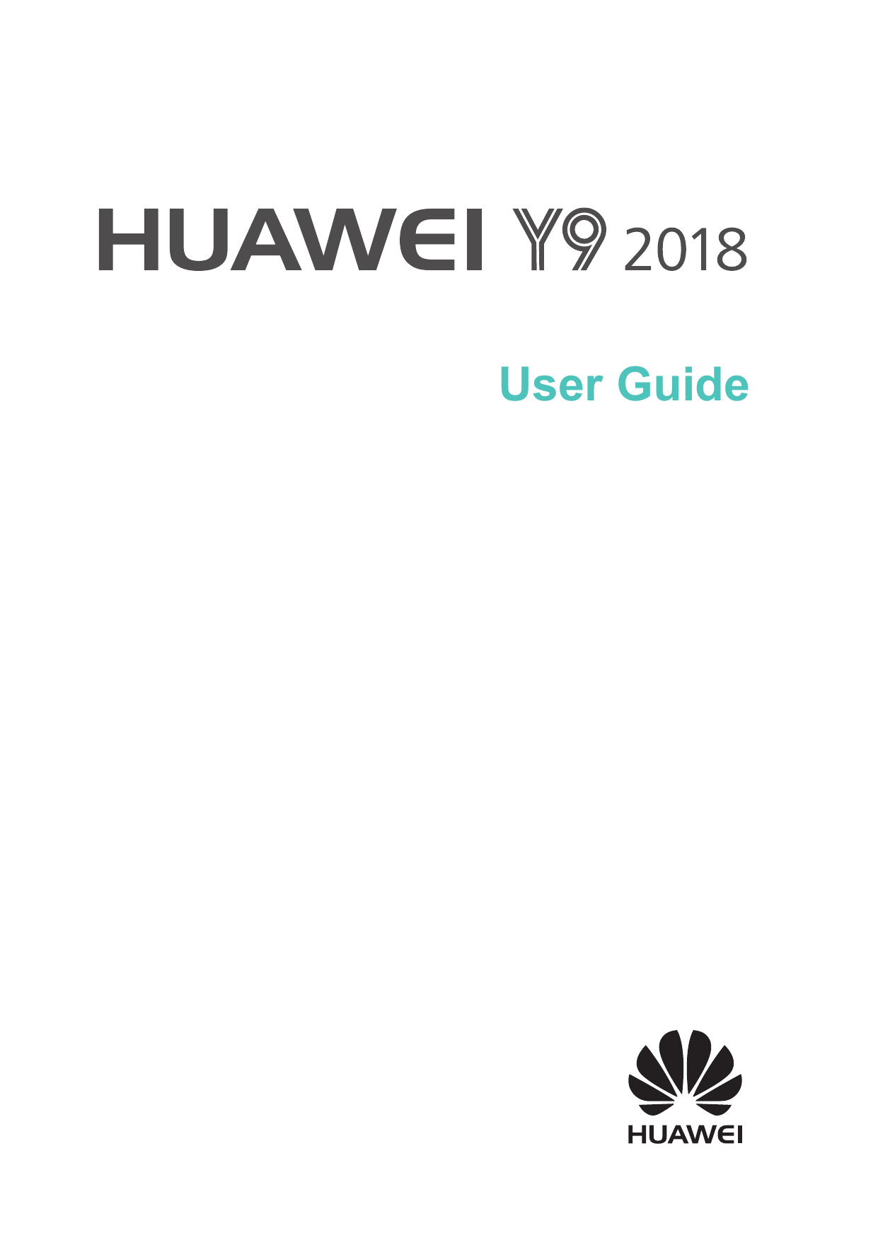 Manual - Huawei Y9 (2018) - Android 8 0 - Device Guides