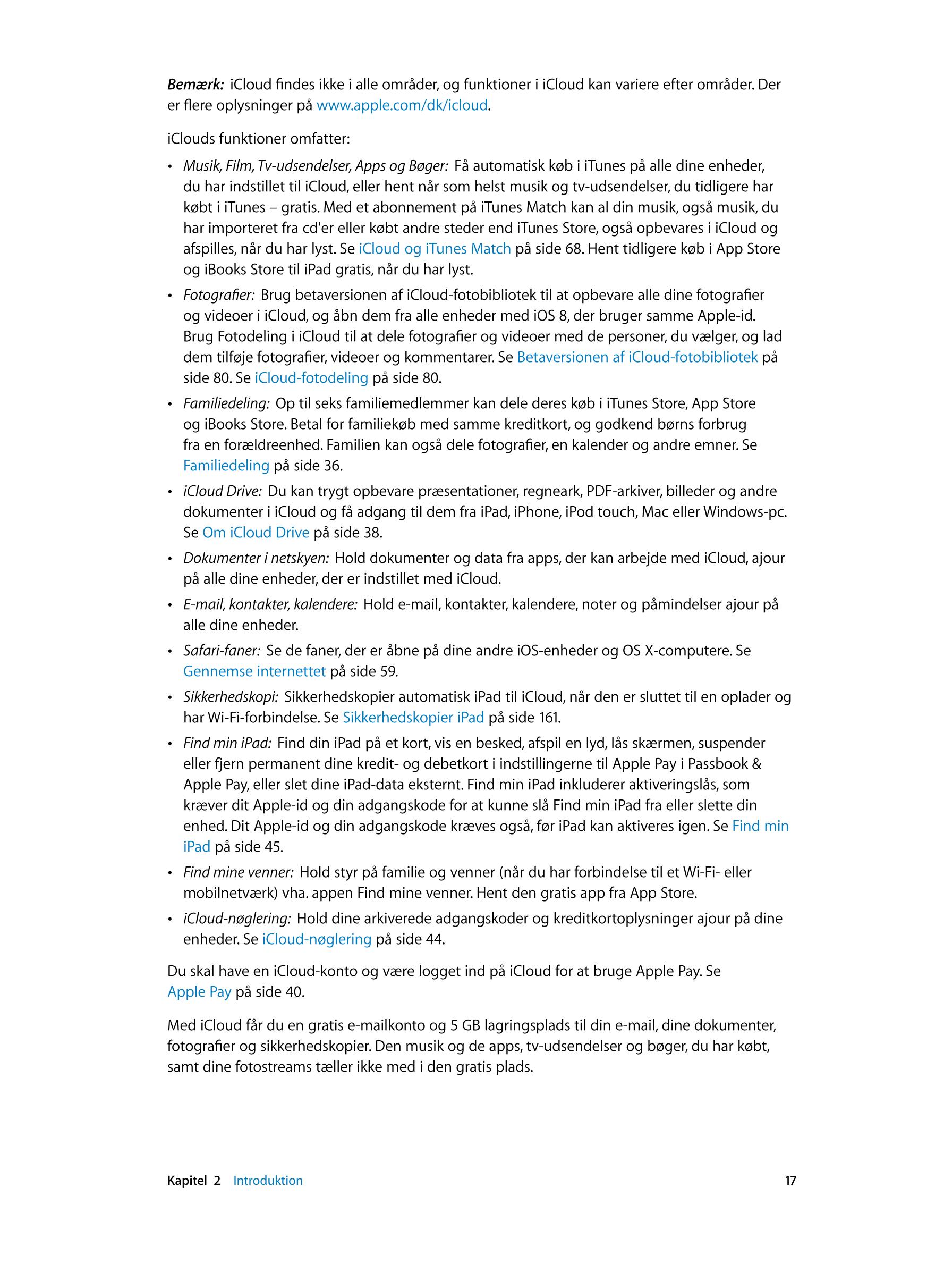 brugermanual apple ipad air 2 ios 8 device guides