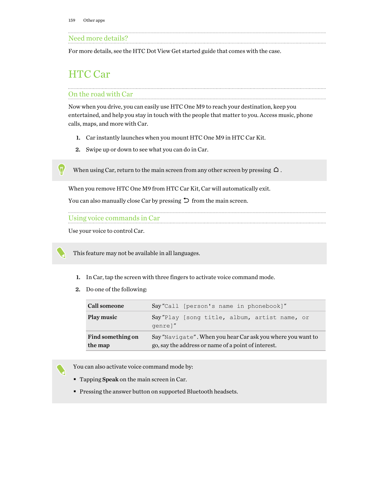 Manual - HTC One M9 - Android 6 0 - Call me Guides