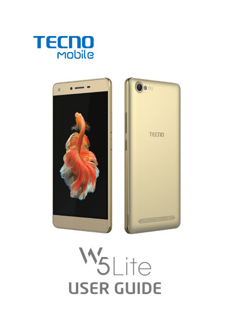 Manual - Tecno W5 Lite - Android 6 0 - Device Guides