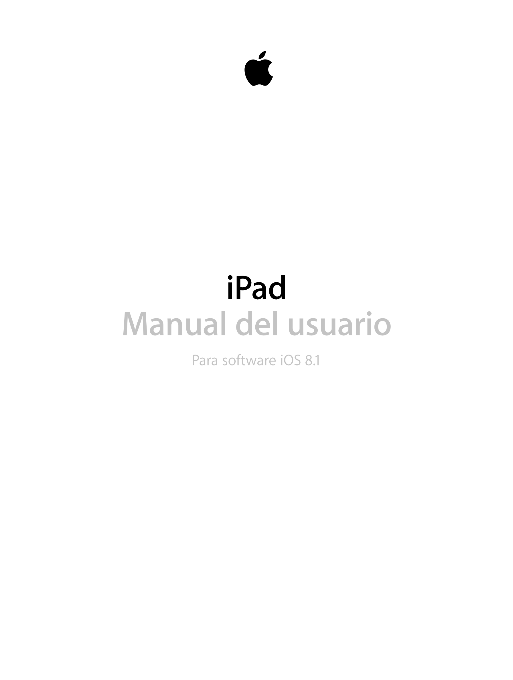 manual apple ipad 3 ios 8 device guides rh helpforsmartphone com Manual Del iPhone 5 Panasonic TC 55Le54 Manual