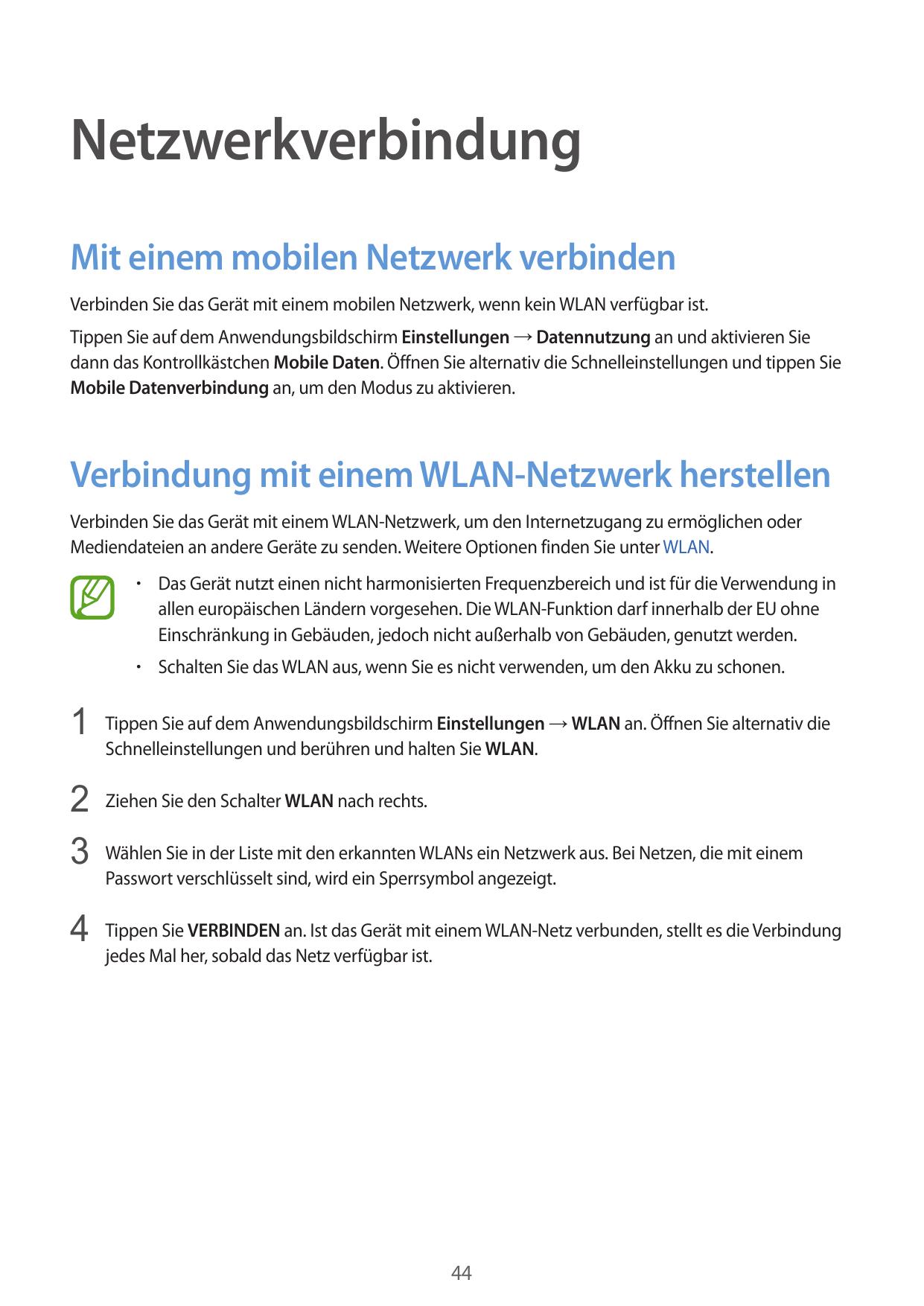 Bedienungsanleitung Samsung Galaxy S5 Android 60 Mobilcom