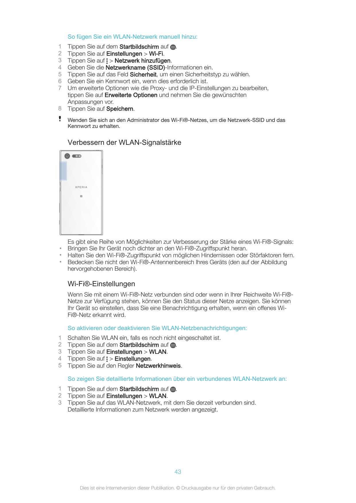 Bedienungsanleitung - Sony Xperia X Compact - Android 6.0 - mobilcom ...