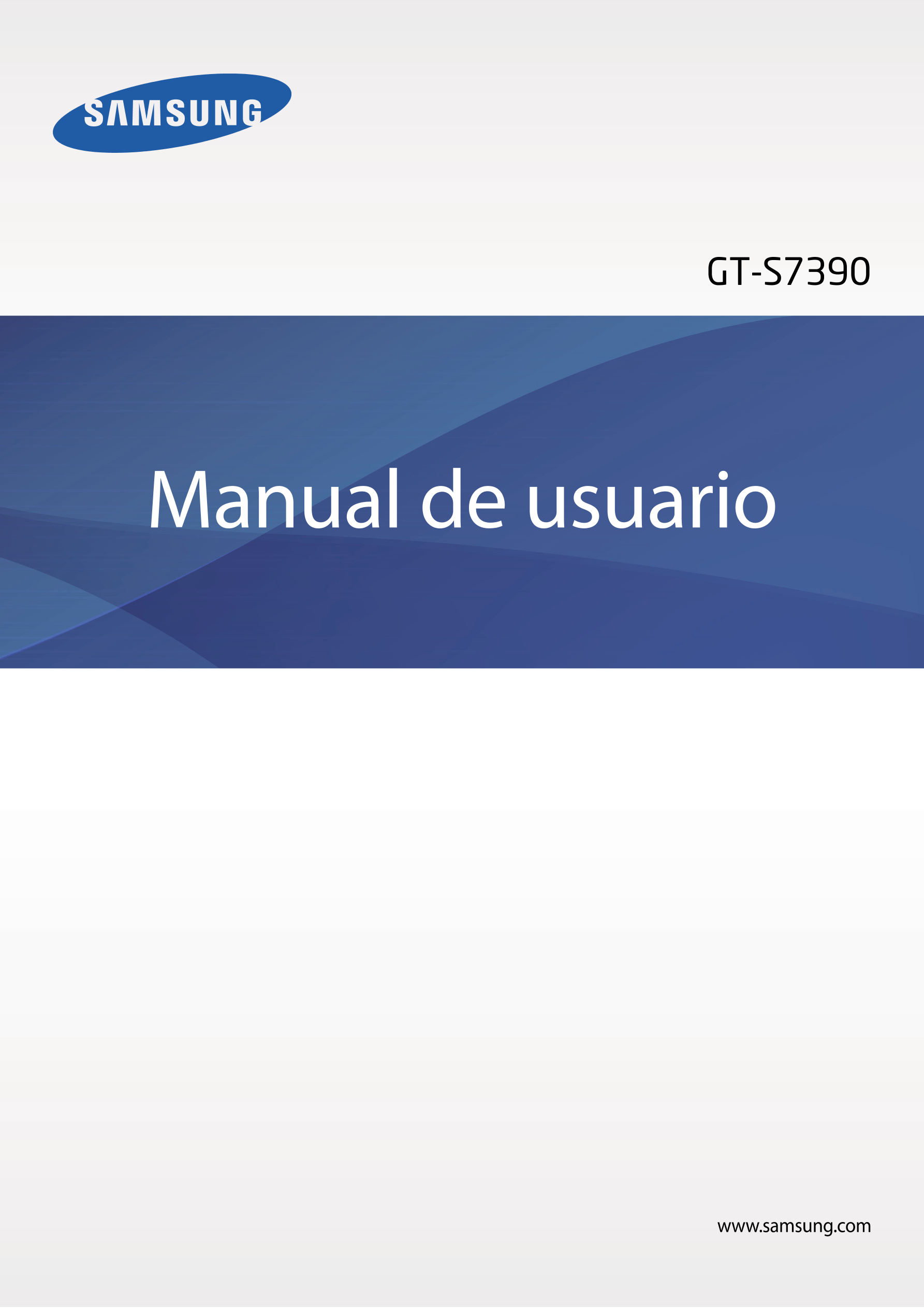 GT-S7390 Manual de usuario www.samsung.com. Ir. Samsung Galaxy Trend Lite