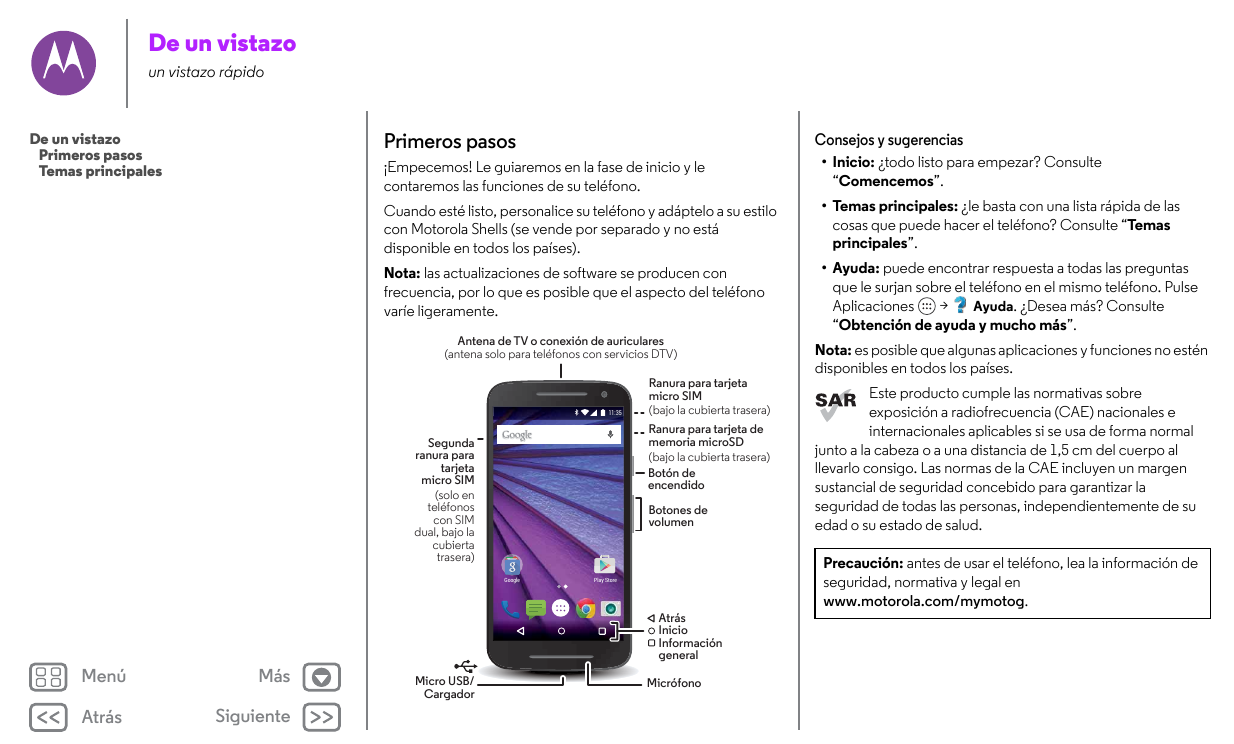 Manual motorola moto g5 plus android 7. 0 device guides.