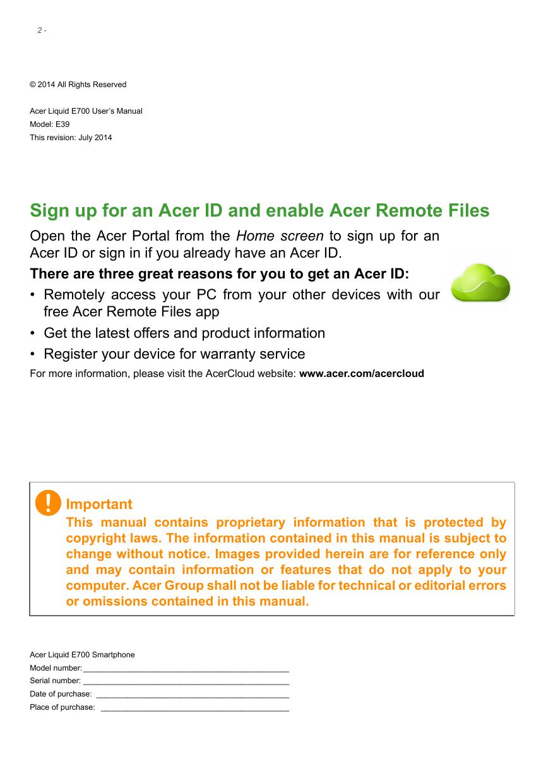 manual acer liquid e700 android 4 4 device guide rh helpforsmartphone com